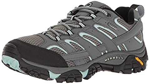 Merrell Women's Moab 2 Gtx Low Rise Hiking Boots, Grey (Sedona Sage), 4 UK 37 EU