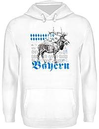 2d2b891c6f Bayern Trachten T-Shirt mit Hirschmotiv für Herren, Damen & Kinder    Bayrischer Hirsch