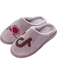 Inverno Modello Pantofole Peluche Cotone Scarpe da Casa Morbido Antiscivolo  Caldo Comode Pantofole per Unisex f194a106f94