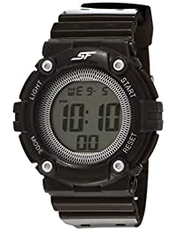 Sonata Sports Digital Grey Dial Women's Watch -77042PP08