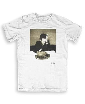 Tom Waits - Music T-shirts by Tom Sheehan S to XXL Unisex- white - XXL
