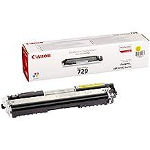 Canon 729 Y - Cartucho tóner, 1000 páginas, color amarillo