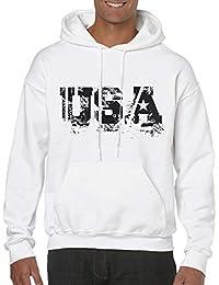 BRANDS + HEROES International Fan und Fun ▻ Hoodie Pullover USA b18e502bf7