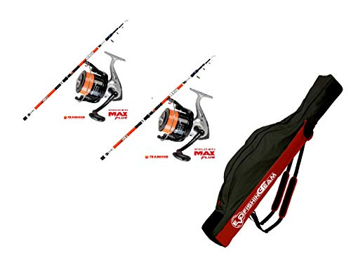 EVO FISHING Combo Kit surfcasting, 2 Cannes Long cast...