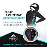 #1: Fego Float (Mountain Range). No Back Pain on Bikes. Air Suspension Seat Add-on.