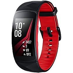 Samsung Gear Fit 2 Pro - Pulsera de Fitness de 1.5'' (4 GB, 1 GHz, 0.5 GB RAM, Tizen), Resistente al Agua, Color Rojo- Versión Española