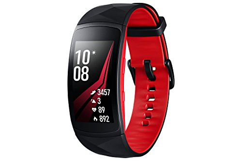 Samsung Gear Fit 2 Pro - Pulsera de color rojo