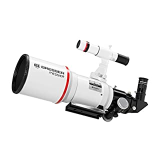 Bresser Refractor Messier AR-102xs/460 Telescope with Hexafoc Focuser - White