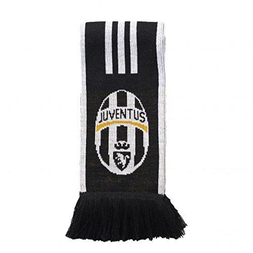 Adidas Juventus Sciarpa, Bianco (Bianco/Nero), OSFM