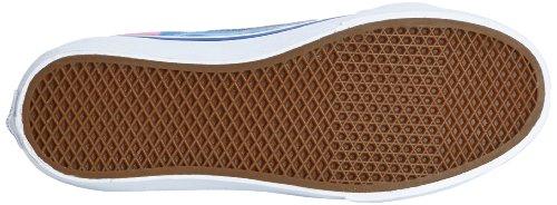 Vans - U Sk8-hi Slim (cheetah) Noir, Sneakers, Unisexe Blu (true White)