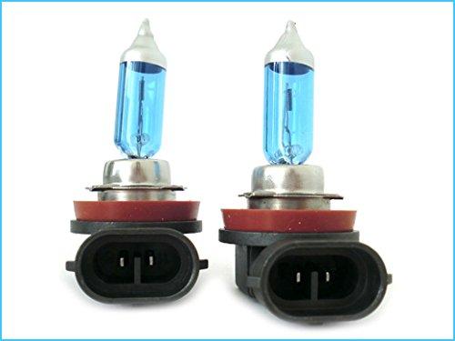 CARALL Lampada H11 12V 55W PGJ19-2 Con Effetto XENON Super Bianco
