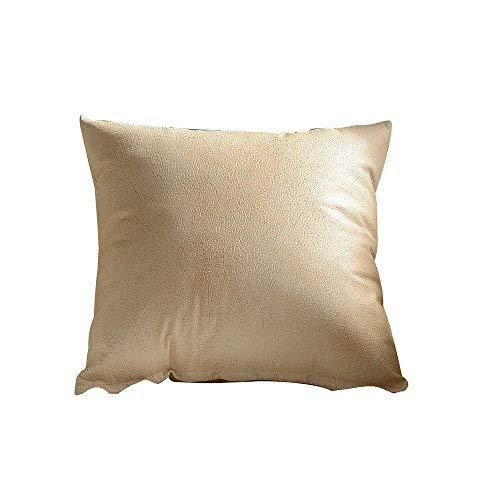 Zor345damilla, federa per cuscino in similpelle per divano, decorazione per la casa, festa della mamma, festa del papà, regalo di compleanno