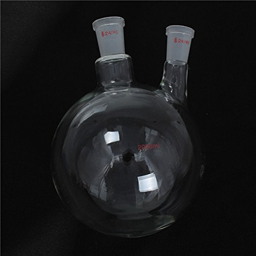 MYAMIA 2000Ml 24/40 Gelenke 2 Verschachtelten Runden Boden Glasflaschen Chemie Kochende Flasche -