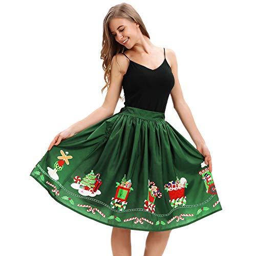 Jahrgang 1920 Kleider Für Verkauf - FRAUIT Damen Eine Linie Jahrgang Weihnachten
