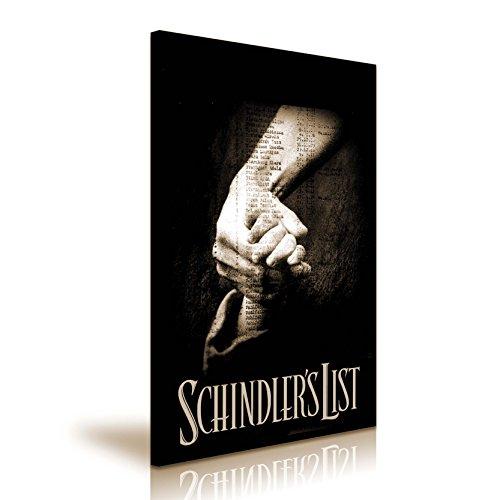 Schindlers Liste Film Poster Bild auf Leinwand Kunstdruck 50x 76cm (Film-liste)