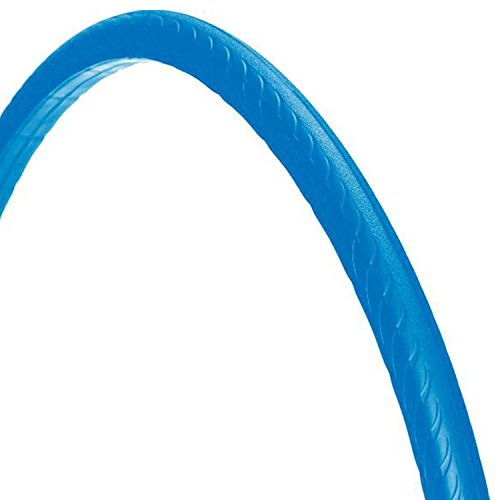 700 x 25C Tannus ,,High-Tech-Polymer - Reifen, ohne Luft' solid Fixie Singlespeed Reifen Aither 1.1, Farbe:blau