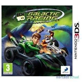 Nintendo BEN 10 Galactic Racing, 3DS Nintendo 3DS videogioco