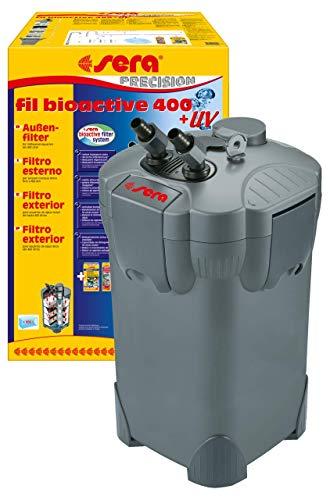 SERA Fil Bioactive Filtre extérieur pour Aquarium avec Lampe...