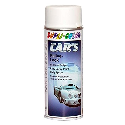 Dupli-Color 651953 Cars Lackspray, 400 ml, Weiss Matt