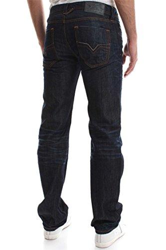 Diesel Herren Straight Jeans Larkee Dark Blue