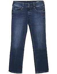 Pepe, Gen Straight, Damen Jeans Hose, Powerflex Denim, darkblue used, W 31 L 30 [19750]