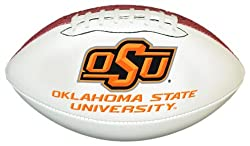 NCAA Oklahoma State Cowboys Official Size Synthetic Leather Autograph Football