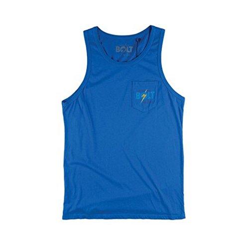 LIGHTNING BOLT -  T-shirt - Uomo Blu