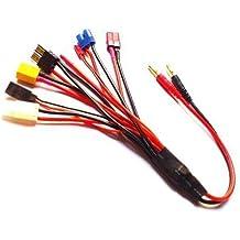 SHINA 8 en 1 Fiche banane Charge Cable Cord chef de file Adaptateur XT60 Dean EC3 etc