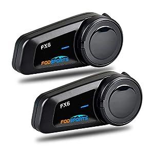 Intercomunicador Casco Moto, FODSPORTS FX6