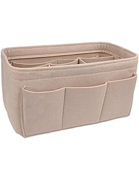 apsoonsell Filz Handtasche rutschsicher für Frauen, Tasche Organizer einfügen Handtasche