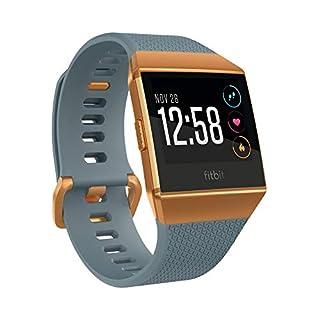 Fitbit Ionic, la montre-coach connectée pour le sport et la forme, Bleu Ardoise et Orange Métallisé (B074K7T8SG) | Amazon price tracker / tracking, Amazon price history charts, Amazon price watches, Amazon price drop alerts
