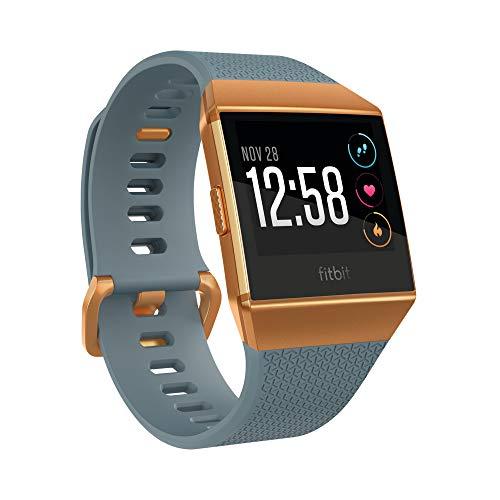 Fitbit Ionic, El Smartwatch Deportivo, Azul Pizarra/Naranja Fuego