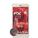 atFolix Schutzfolie passend für Haier Leisure L56 Folie, entspiegelnde & Flexible FX Bildschirmschutzfolie (3X)