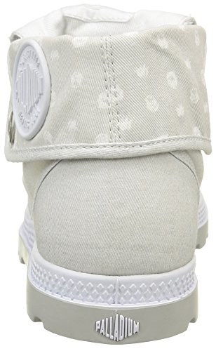 Palladium Damen Baggy Lp Mtl F Sneaker Weiß - Blanc (D37 White/Lunar Rock)