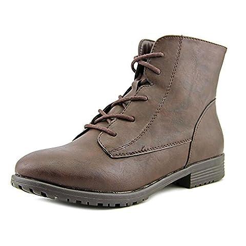 Style & Co Qwinn Women US 7.5 Brown Ankle Boot