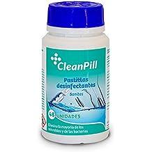 Pastillas de lejía desinfectantes Sanitas para instalaciones y utensilios médicos - Bote de 160g - 48