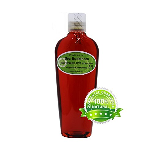 Sea Buckthorn Carrier Oil (Co2 Extracted) 100% Pure 8 Oz