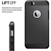 Funda de protección Armor Carcasa robusta y rígida Protector & Aelgada Antichoque Shockproof Iphone 5C Negro Facil&co®