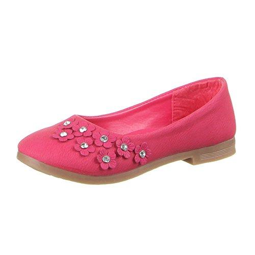 Kinder Schuhe, B-11-1, BALLERINAS Pink (31-36)