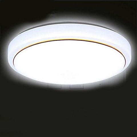 Miaoge Ingénierie LED lampe plafond moderne minimaliste acrylique rond lampes salon chambre à coucher den balcon lumières allée 40cm 24W