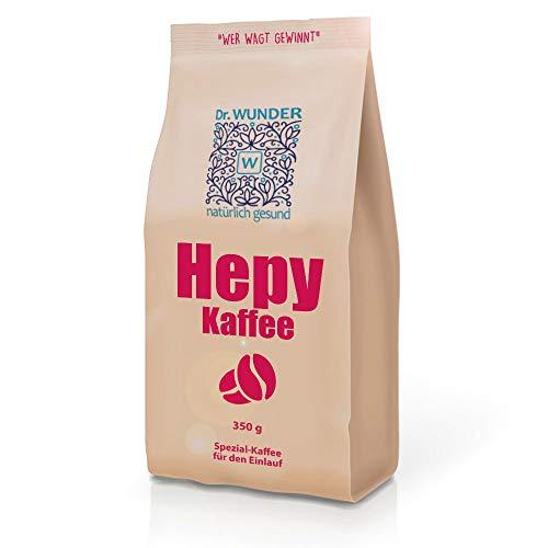 Dr. Wunder Hepy-Einlaufkaffee 350g: Grüner/Goldener Bio-Detox-Kaffee speziell für den Kaffee-Einlauf zur Leberreinigung || besonders hoher Gehalt an Koffein und Palmitinsäure
