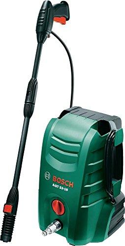 Bosch AQT 33-10kompakt Elektro 330L/H 1300W schwarz grün Reinigungstuch, hohe Druck oder Hochdruckreiniger-Hochdruckreiniger (Kompakt, Elektro, 3m, 5m, schwarz, grün, 330l/h)