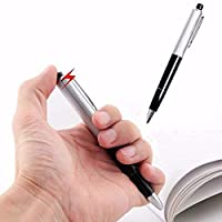 BSGP 2PCS Electric Shock Ballpoint Working Pen Gag Funny Gift Prank Joke Shocker