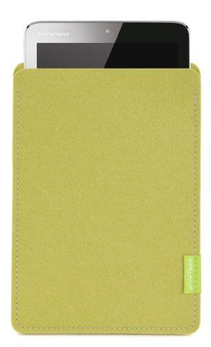 WildTech Sleeve für Lenovo A7-50 Tablet (A3500) Hülle Tasche - 17 Farben (Made in Germany) - Lindgrün