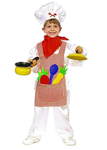 Disfraz Pequeño Cocinero (3 - De 2 a 3 años)