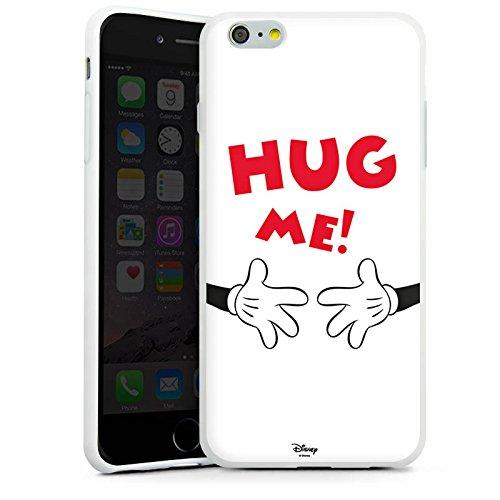 Apple iPhone X Silikon Hülle Case Schutzhülle Disney Mickey Mouse Fanartikel Geschenk Silikon Case weiß