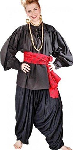 Grace O' Malley Piraten / Mittelalter Set - Black, Grösse:XL (Grace O'malley Kostüm)