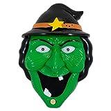 Trixes Leuchtende und sprechende Hexen Halloween Türklingel