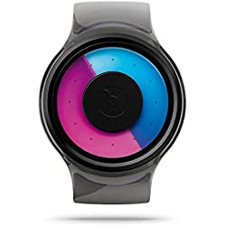 ZIIIRO Uhr - Proton - Transparent Lila