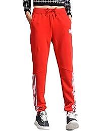 9f72d18eeda703 LXIANGP Damenhosen Stretch große größe lässige Hosen Sporthose Damen lose  gerade Hosen frühling und Sommer Kleidung